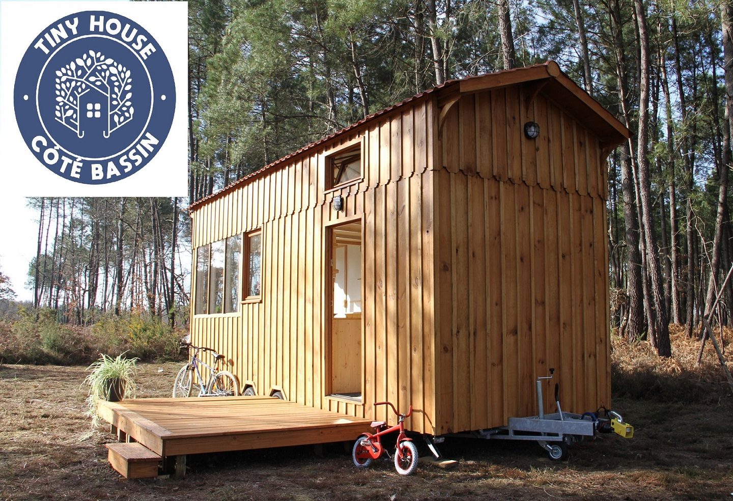 Achat Remorque Tiny House tiny house cote bassin - annonces tiny house france