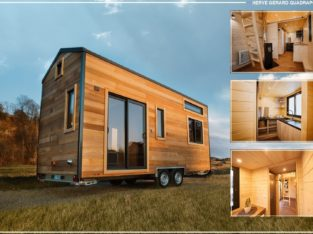 Tiny house COLIBRI par QUADRAPOL 23m² NEUVE
