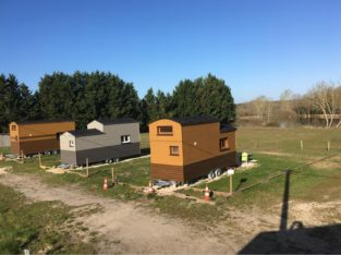 3 Tiny houses à vendre
