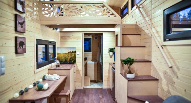 Tiny House, Style scandinave, Maison mobile