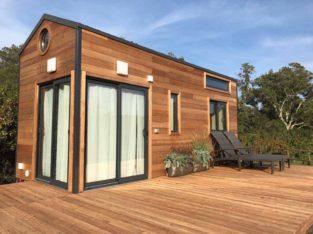 Tiny house NEUVE hors d'air hors d'eau LIVREE
