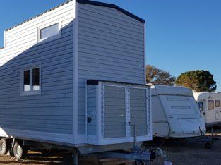 Tiny House 100% autonome en eau, électricité