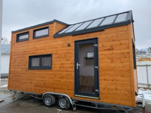 Tiny House, mobil home sur roues, bureau mobile