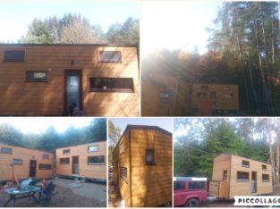 2 tinys house déclarées + terrain