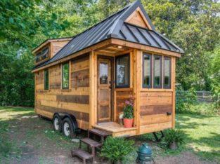 Tiny house écologique et autonome